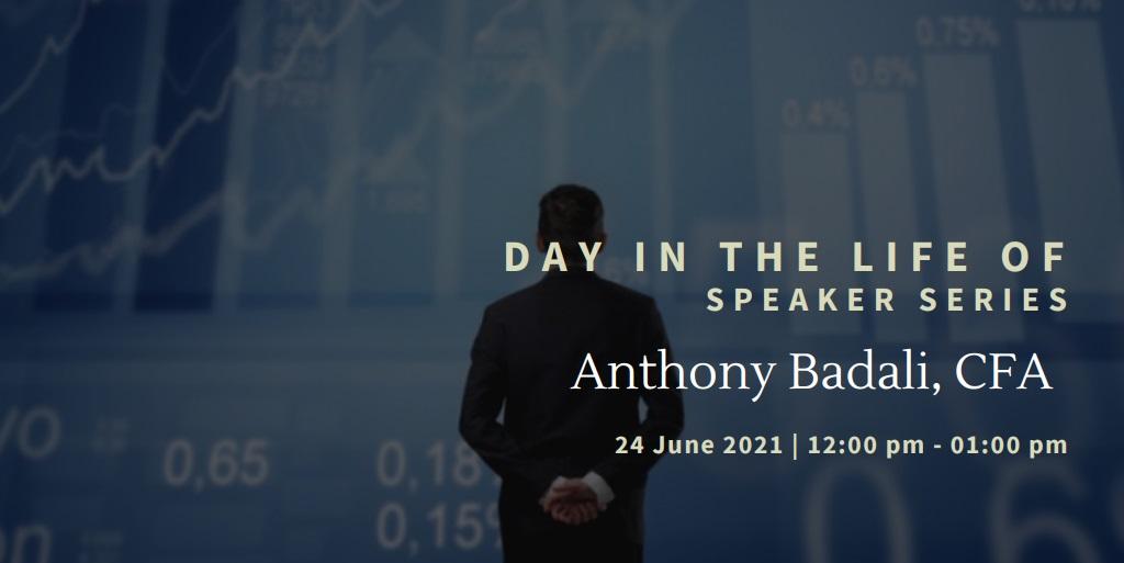 vimeo - Day In the Life Of:  Anthony Badali, CFA