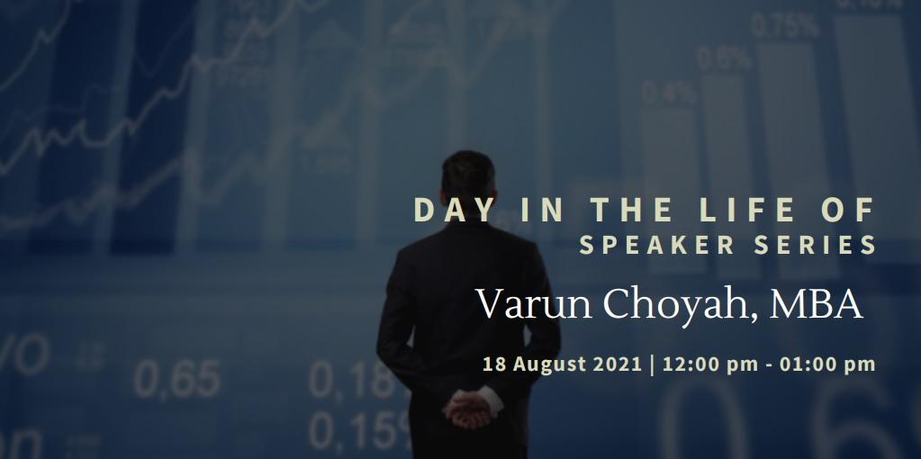 vimeo - Day In the Life Of:  Varun Choyah, MBA