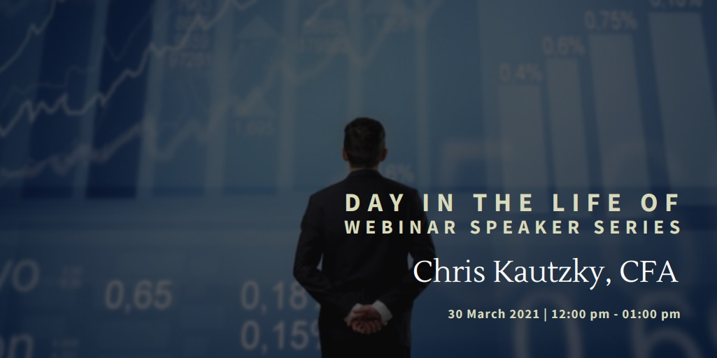 vimeo - Day In the Life Of:  Chris Kautzky, CFA