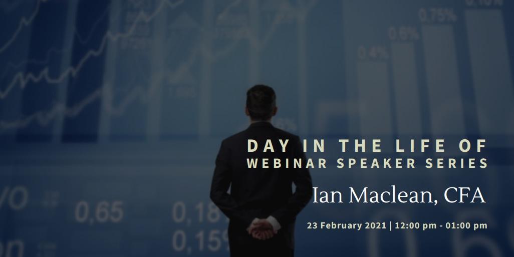 vimeo - Day In the Life Of:  Ian Maclean, CFA