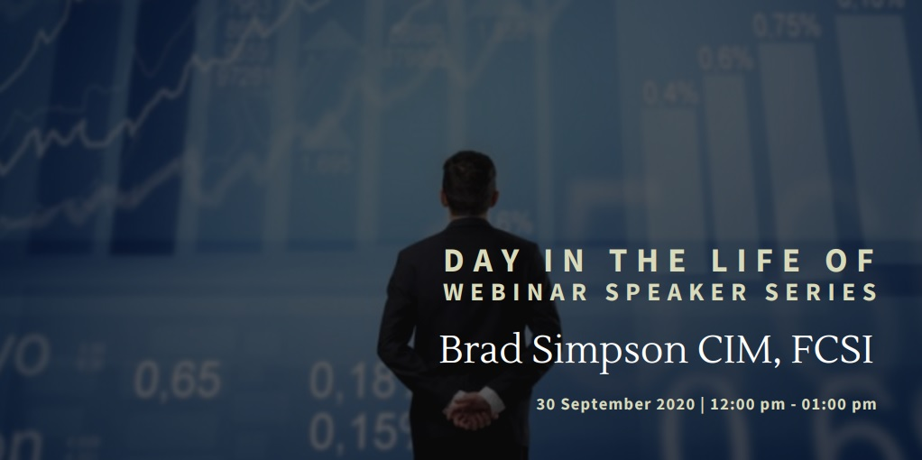 vimeo - Day In The Life Of:  Brad Simpson CIM, FCSI
