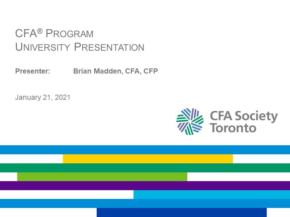 vimeo - CFA Program and Career Insights