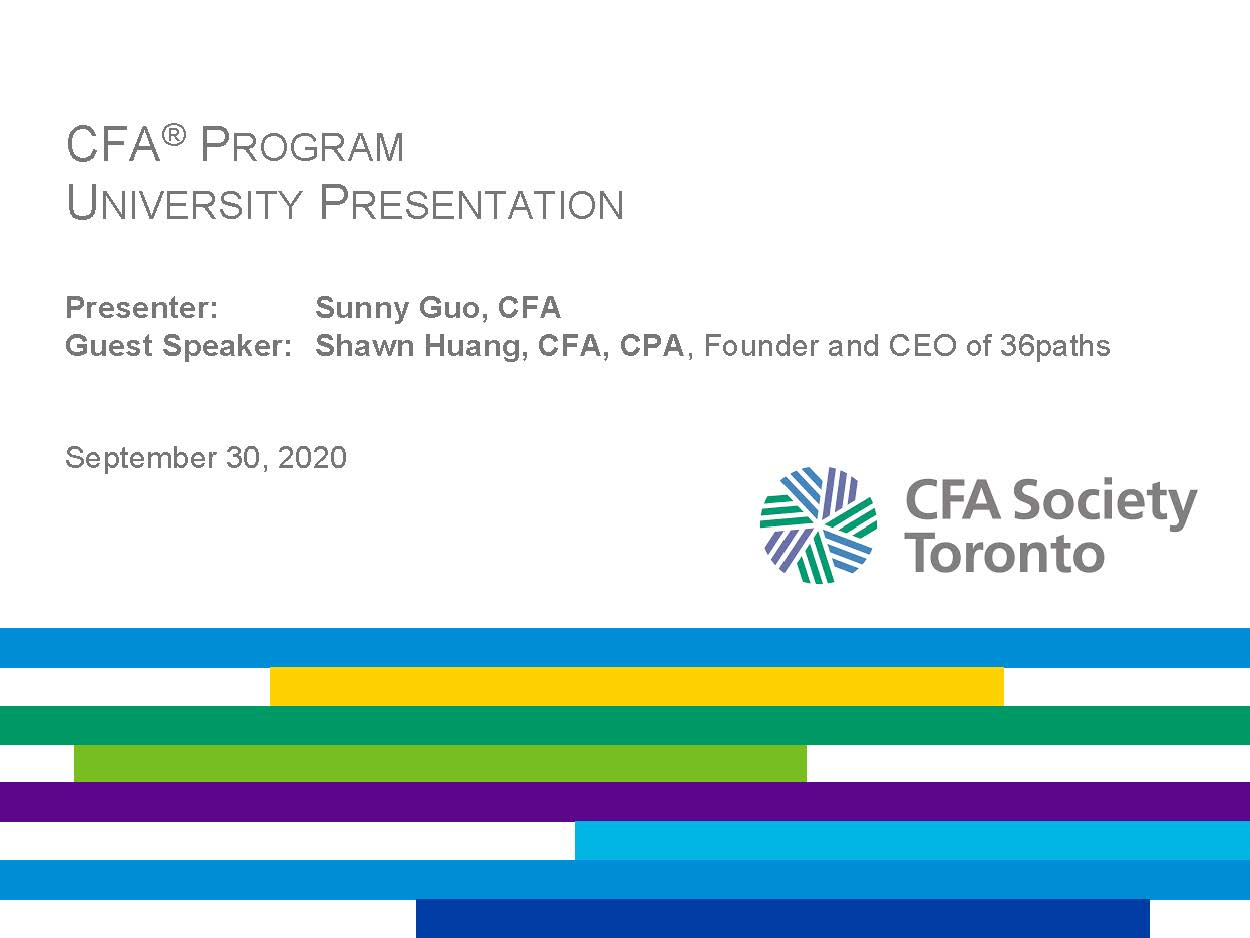 vimeo - CFA Program and Career Insights